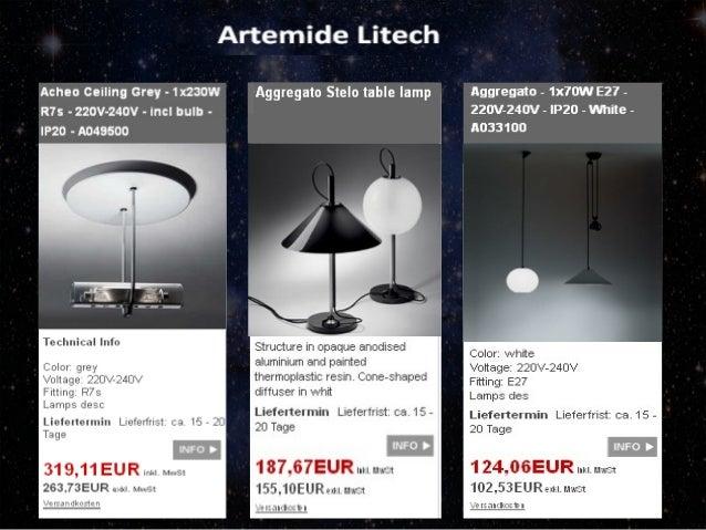 Lampen und leuchten shop Slide 3