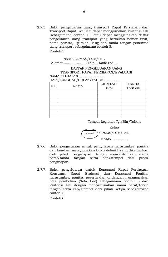 Lampiran Permendagri Nomor 20 Tahun 2013 Tentang Perubahan