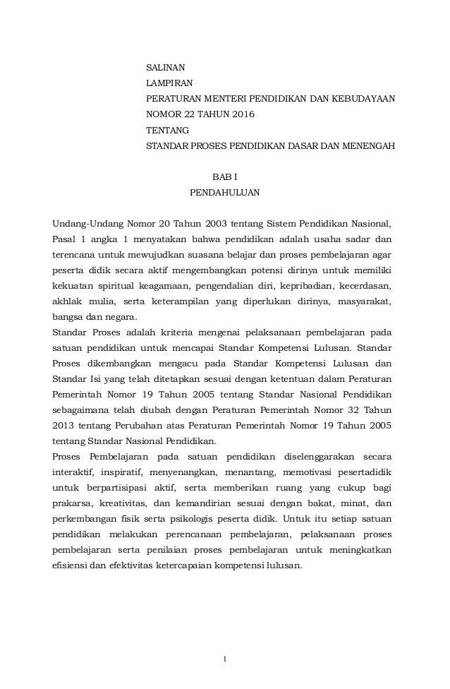 Image Result For Download Permendikbud Standar