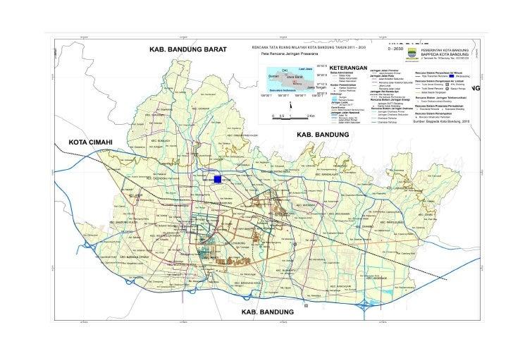 Lampiran raperda rtrw kota bandung (18.04.11) Slide 2