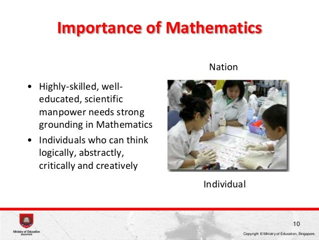the importance of mathematics for the different aspects of human sciences Because of its abstractness, mathematics is universal in a sense that other fields of human thought are not it finds useful applications in business, industry, music, historical scholarship, politics, sports, medicine, agriculture, engineering, and the social and natural sciences.