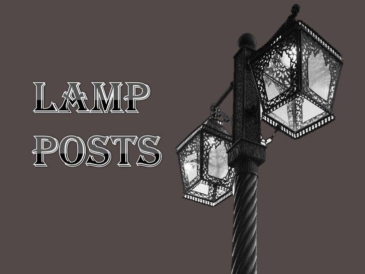 LAMP <br />POSTS<br />