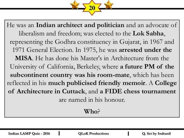 This European lady from the world of literature has found a mention in today's quiz, courtesy a former CM of an Indian sta...