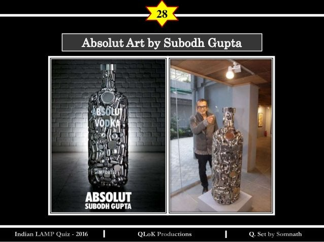 India Lamp Quiz Prelims