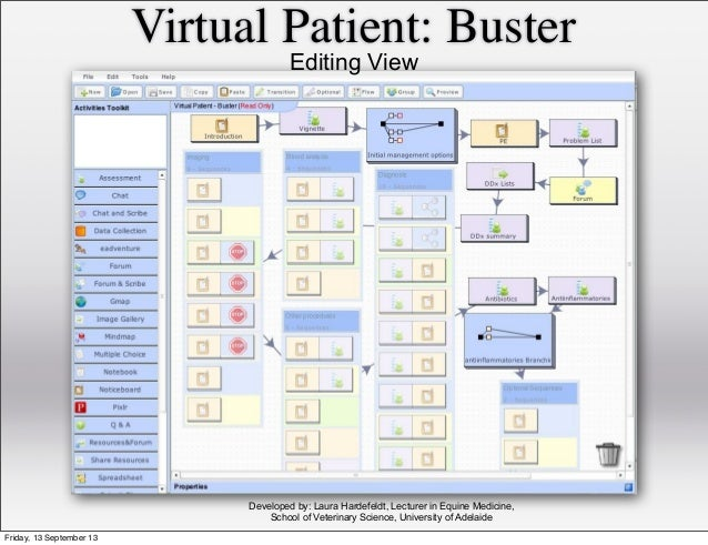 Virtual Patient: Buster Developed by: Laura Hardefeldt, Lecturer in Equine Medicine, School of Veterinary Science, Univers...