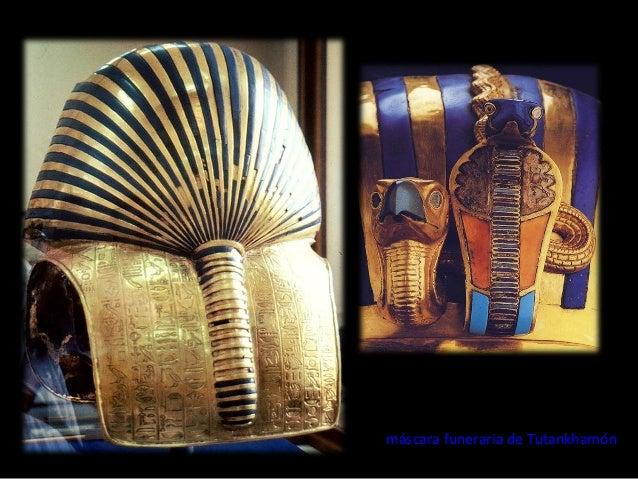 máscara funeraria de Tutankhamón