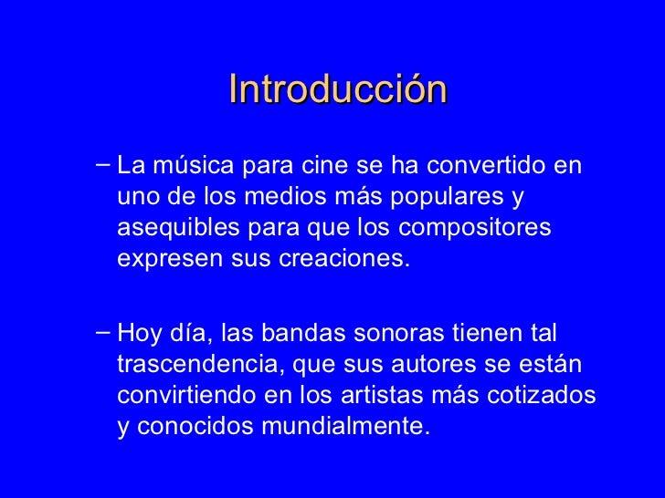 La MúSica En El Cine Slide 2