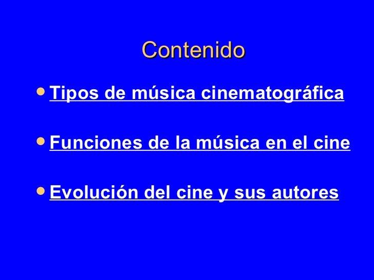 La MúSica En El Cine Slide 3