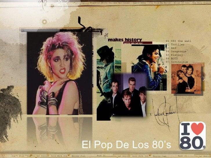 El Pop De Los 80's
