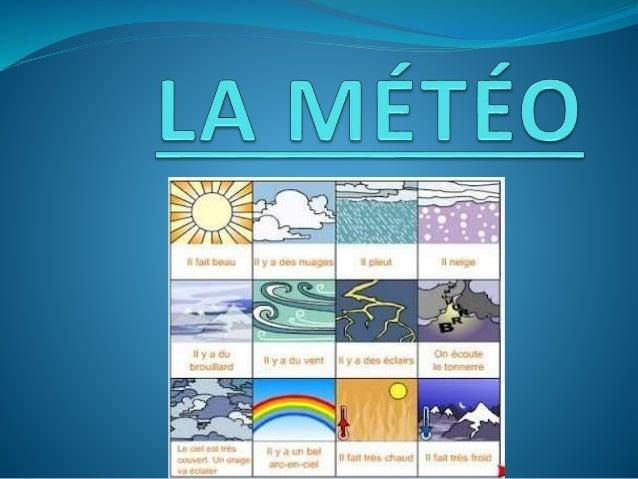 Regarder la météo mirar el tiempo