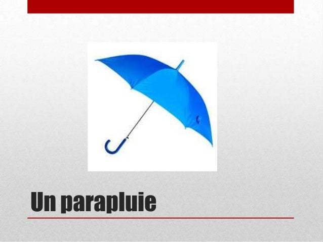 Un parapluie
