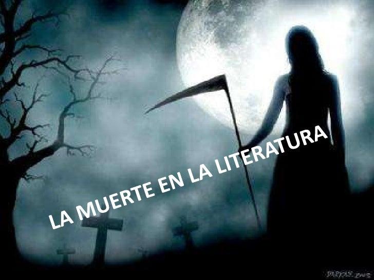 La muerte La muerte en la Literatura             Romana
