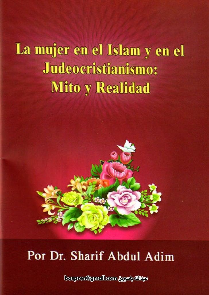 La mujer en el Islam                                 1           La mujer en                el Islam        y en el  Judeo...
