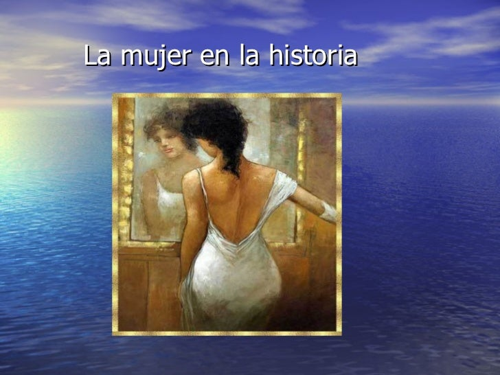 La mujer en la historia