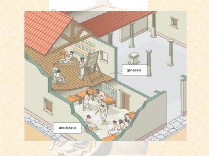 La mujer griega for Casas griegas antiguas