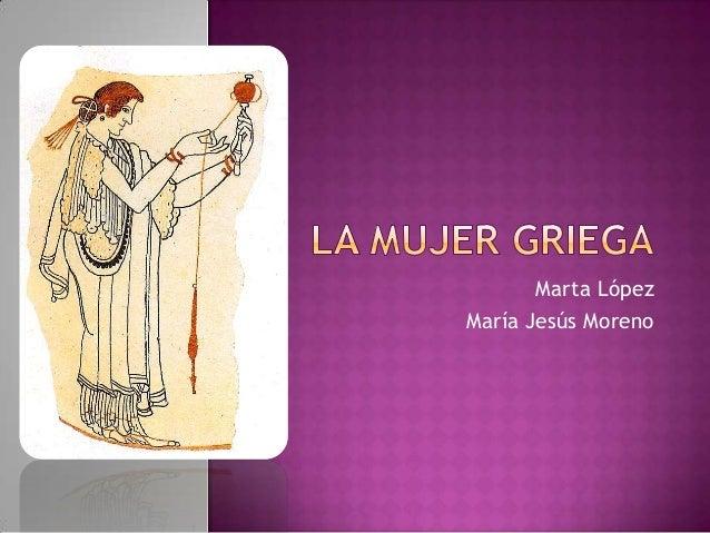 Marta LópezMaría Jesús Moreno