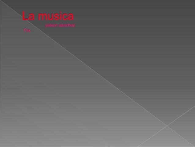  La musica es algo muy bueno,por que nos entretiene nos divierte y nos ayuda en a diferentes cosas  La musica son expres...