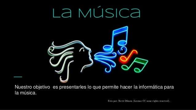 La musica en la informatica
