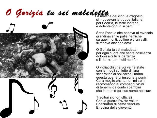 La musica & la grande guerra.