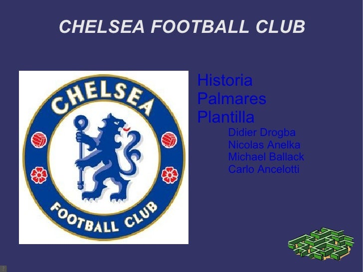 CHELSEA FOOTBALL CLUB <ul><li>Historia