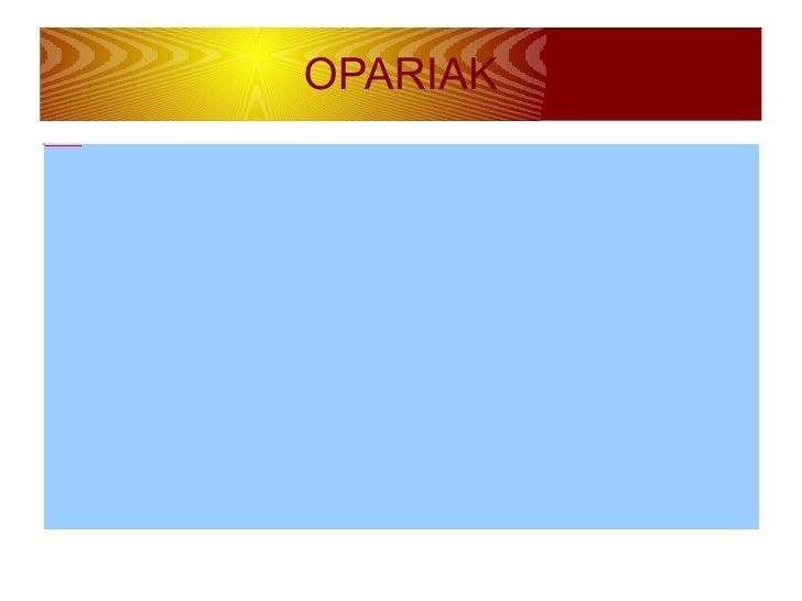 OPARIAK