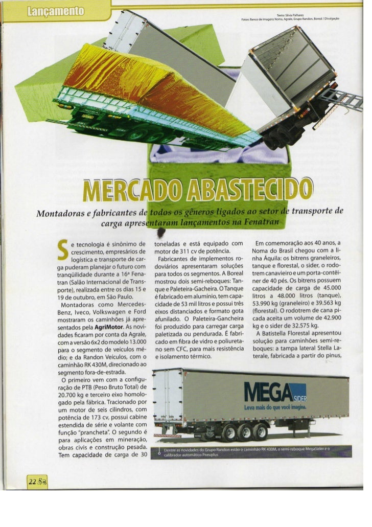 Lançamento - AgriMotor 26 Novembro 2007