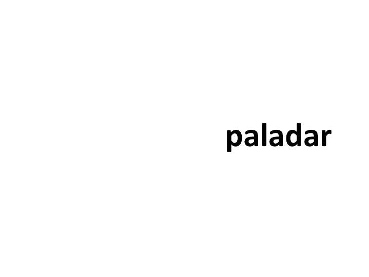 paladar<br />