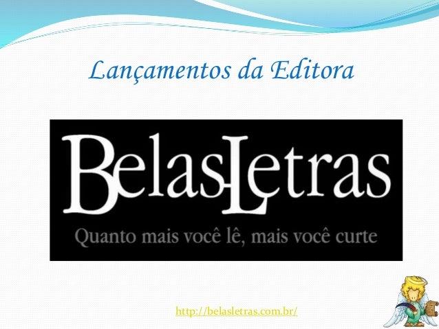 Novidades da Editora Belas Letras para abril Slide 2