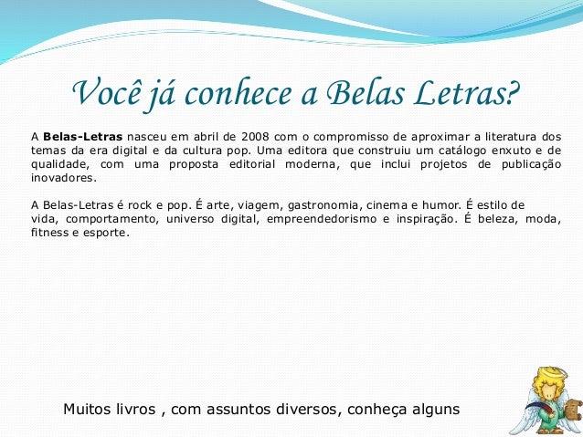 Novidades da Editora Belas Letras para abril Slide 3