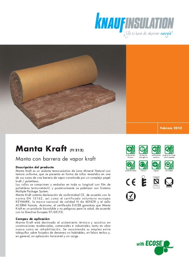 Rollo de aislamiento de Knauf Insulation