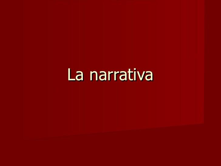 La narrativa