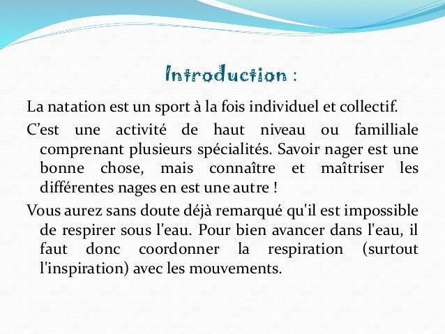 La natation  Slide 3