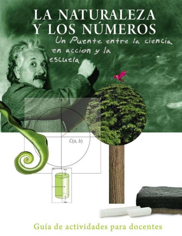 LA NATURALEZA Y LOS NÚMEROS Un Puente entre la ciencia en acción y la escuela Guía de actividades para docentes SENACYT- S...
