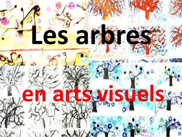 Les arbres  en arts visuels