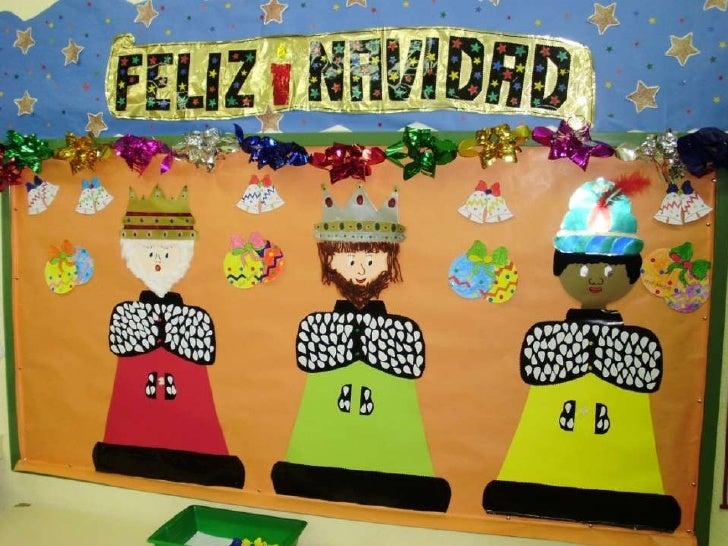 La navidad - Murales decorativos de navidad ...