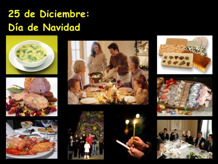 25 de Diciembre:  Día de Navidad