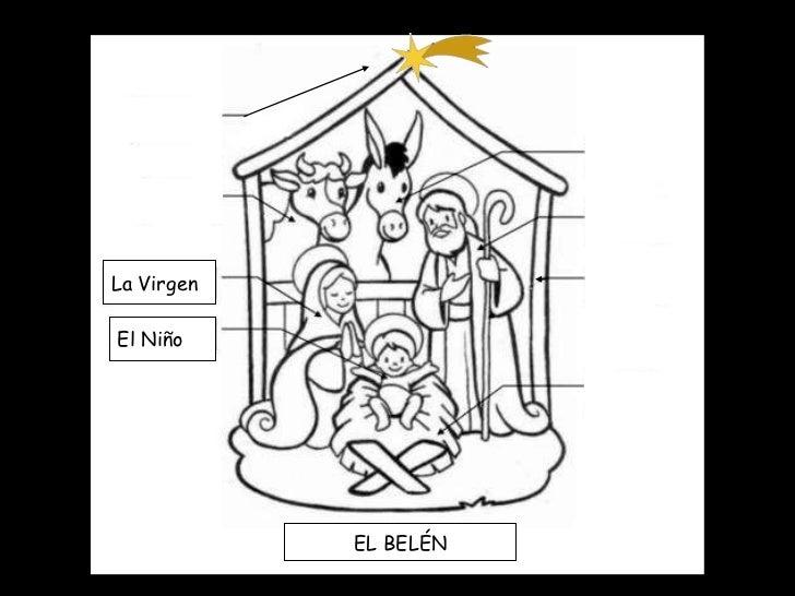 La Virgen El Niño EL BELÉN