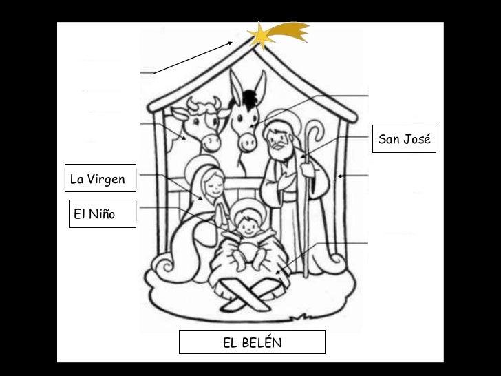 La Virgen El Niño San José EL BELÉN