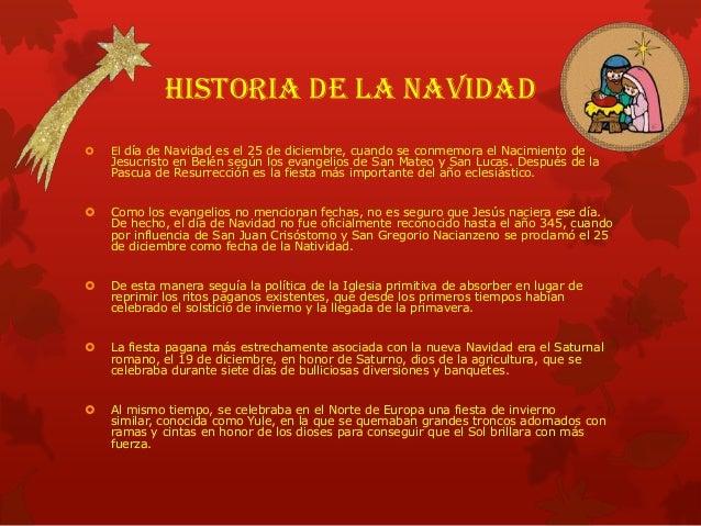 Historia de la navidad Slide 2