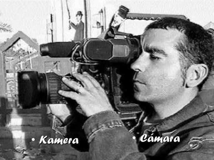 <ul><li>Kamera </li></ul><ul><li>Cámara </li></ul>