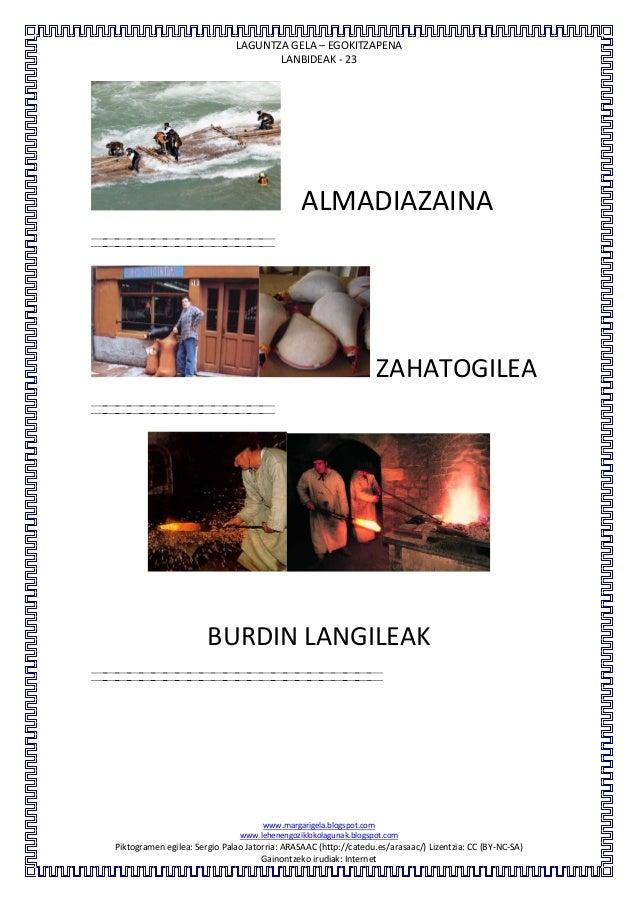 LAGUNTZA GELA – EGOKITZAPENALANBIDEAK - 23www.margarigela.blogspot.comwww.lehenengoziklokolagunak.blogspot.comPiktogramen ...