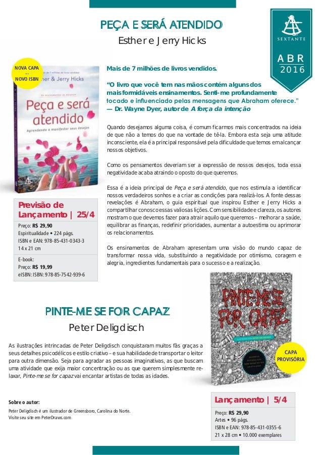 Lançamentos de Abril das Editoras Arqueiro e Sextante Slide 3