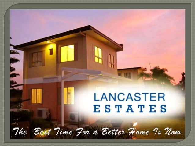 Lancaster Estates Location Map