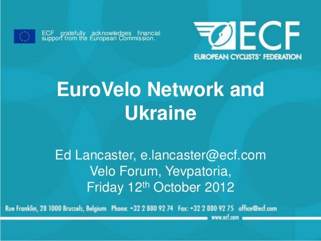 EuroVelo and Ukraine