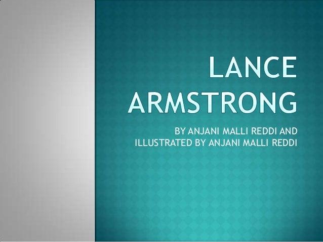 BY ANJANI MALLI REDDI ANDILLUSTRATED BY ANJANI MALLI REDDI