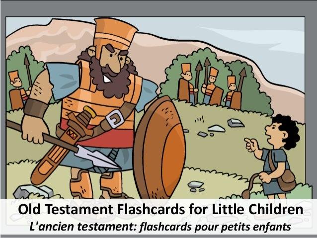 Old Testament Flashcards for Little Children L'ancien testament: flashcards pour petits enfants