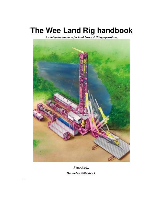 Land rig handbook