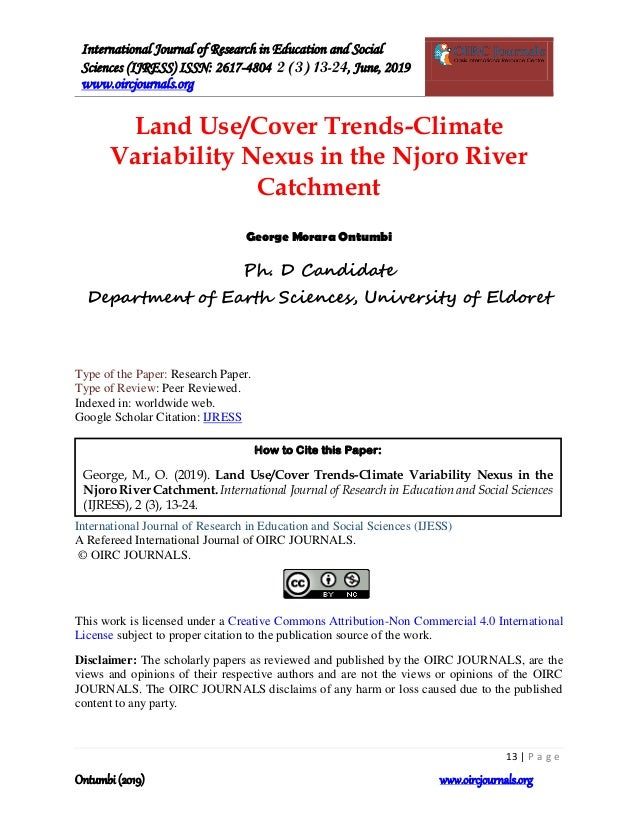 Land use-cover-trends-climate-variability-nexus-in-the-njoro