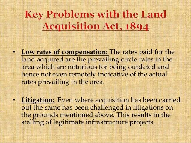 Land Acquisition Act 2013 Pdf