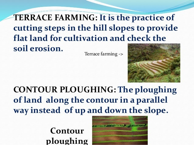pictures of contour ploughing